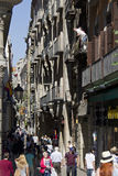 Barri Gotic in Barcelona Royalty Free Stock Images