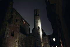 Barri Gotic Gothic Quarter Barcellona Fotografia Stock