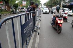 barricadas foto de archivo libre de regalías