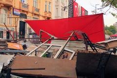 barricade Fotografie Stock Libere da Diritti