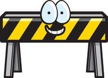 Barricade de construction Illustration Libre de Droits