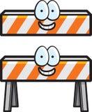 Barricade de construction Illustration de Vecteur