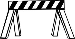 Barricade de garantie Illustration de Vecteur