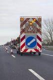 Barricade de route Photo stock