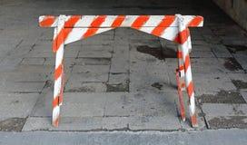 Barricade du trafic photos libres de droits