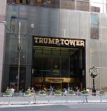 Barricades at Trump Tower, New York City, NYC, NY, USA Royalty Free Stock Photo