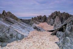 Barricane beach Stock Photography