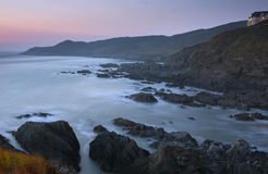 Barricane Beach after sundown Royalty Free Stock Photo