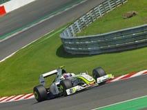 Barrichello... Royalty Free Stock Photo