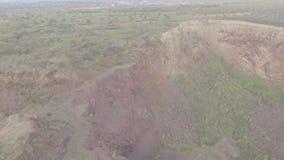 Barrick Gold mina la extracción del oeste de la planta de tratamiento de Wyalong NSW almacen de metraje de vídeo