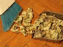 Barrido 6 del dinero Imágenes de archivo libres de regalías