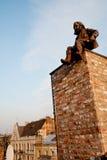 Barrido de chimenea Imagenes de archivo