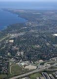 Barrie, εναέριο Στοκ φωτογραφία με δικαίωμα ελεύθερης χρήσης