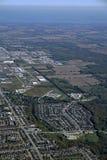 Barrie, воздушное стоковое изображение
