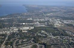 Barrie, aéreo Fotografia de Stock Royalty Free