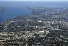 Barrie, aéreo fotografía de archivo
