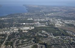 Barrie, aerial Royalty Free Stock Photography