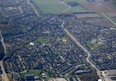 Barrie Cundles, von der Luft Stockbilder