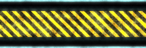Barrier banner Stock Photo