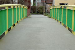 Barrier on bridge Royalty Free Stock Images