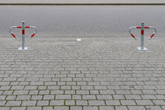 Barrier for cars Stock Images