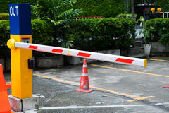 Barrier Gate Automatic system Royalty Free Stock Images