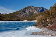 Barrier Lake Royalty Free Stock Image