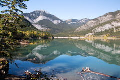 Barrier Lake Royalty Free Stock Images