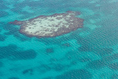 Barrier reef in the Caribbean Stock Photos