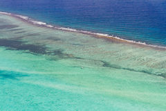 Barrier reef in the Caribbean Stock Images