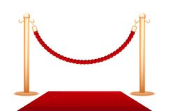 Barrier rope Royalty Free Stock Photography