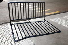 Barrier with shadow Royalty Free Stock Photos