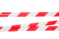 Barrier tape Stock Image