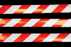 Barrier tapes Royalty Free Stock Images