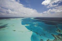Barriera corallina spettacolare Fotografia Stock Libera da Diritti