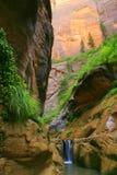 Barriera della cascata fotografia stock