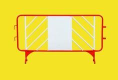 Barriera della costruzione Fotografie Stock