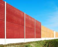 Barriera di disturbo Fotografia Stock