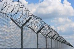 Barriera di sicurezza Immagini Stock