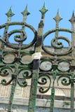 Barriera di sicurezza d'acciaio Immagini Stock