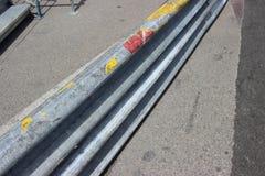 Barriera 2016 di sicurezza del Gran Premio del Monaco Fotografia Stock
