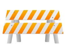 Barriera di sicurezza stradale royalty illustrazione gratis