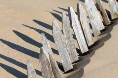 Barriera interrata Fotografia Stock Libera da Diritti