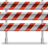 Barriera proteggente della strada Immagine Stock Libera da Diritti