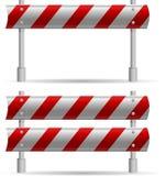 Barriera proteggente della strada Fotografia Stock Libera da Diritti