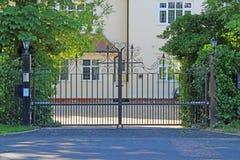 Barriere di sicurezza Fotografie Stock Libere da Diritti