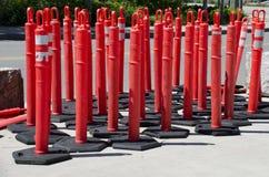 Barriere di traffico Fotografia Stock