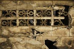 Barriere vecchie d'erosione col passare del tempo Immagini Stock Libere da Diritti