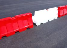 Barriers Royalty Free Stock Photo