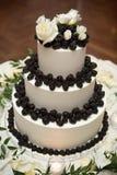 barries torta różany ślub zdjęcia stock